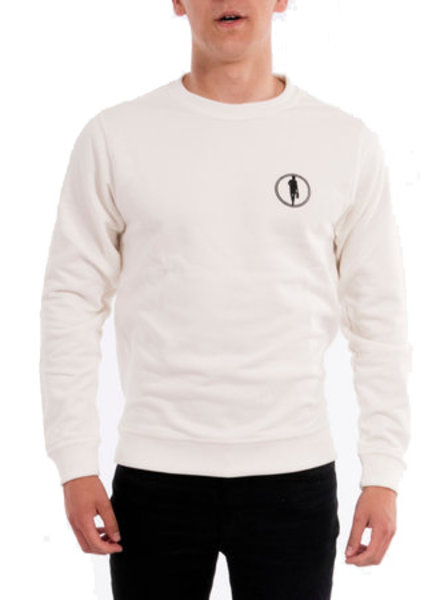 STEDT SWEATSHIRT LOGO 013 OFF WHITE