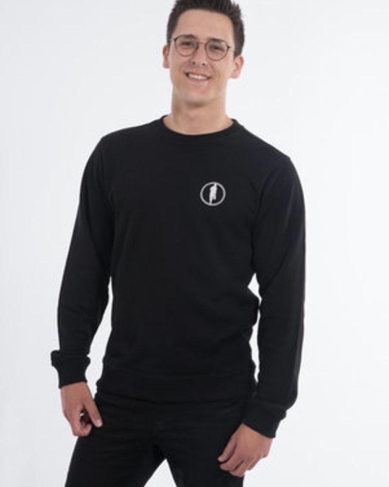 STEDT SWEATSHIRT LOGO 012 BLACK