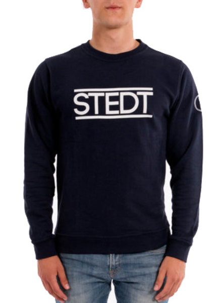 STEDT SWEATER STEDT 011 NIGHT BLUE