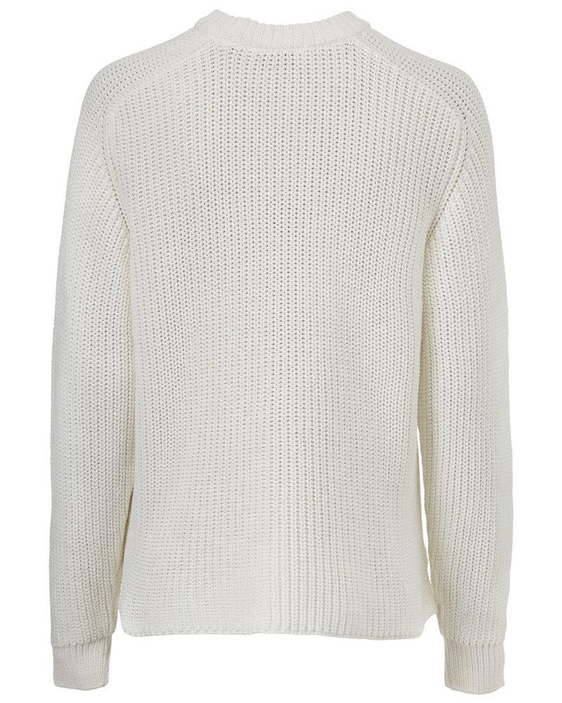 MODSTRÖM 55274 Etta o-neck, knit sweater off white