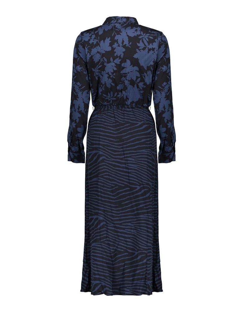 GEISHA 07636-20 Dress black/blue combi