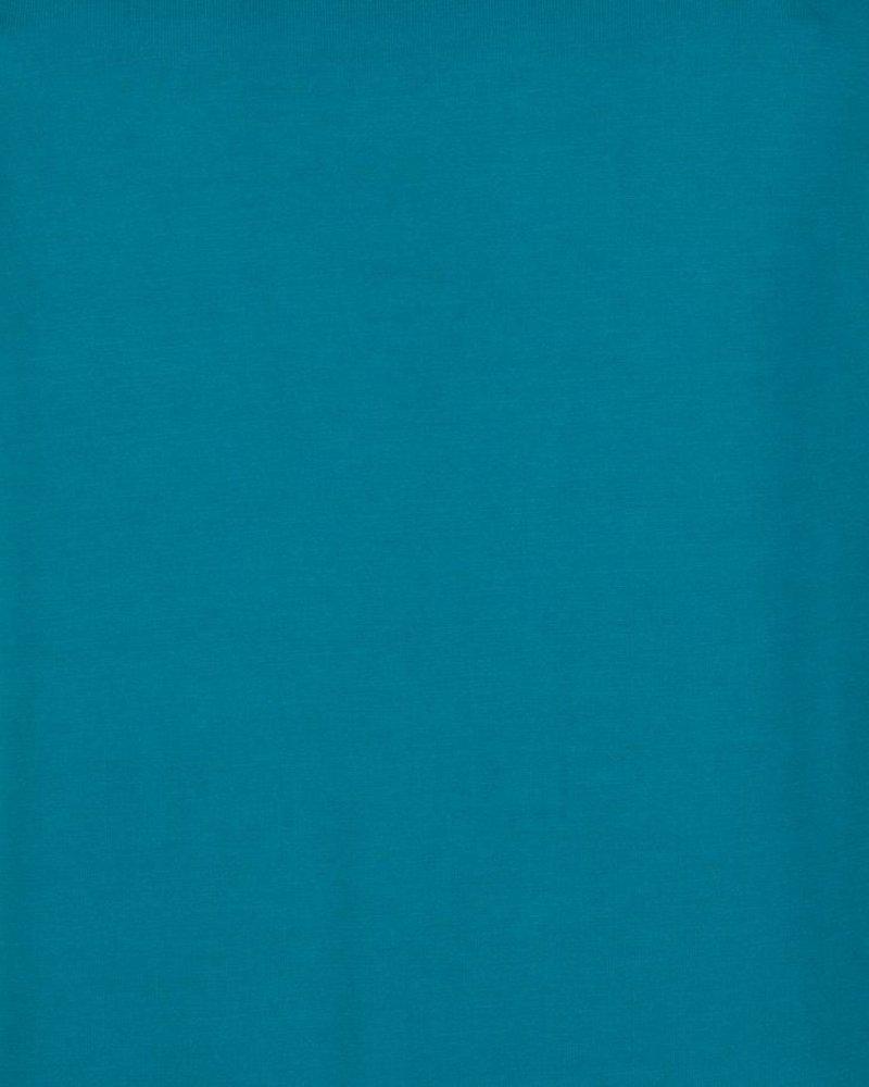 ESQUALO F20.30510 T-shirt turn up sleeve harbor blue