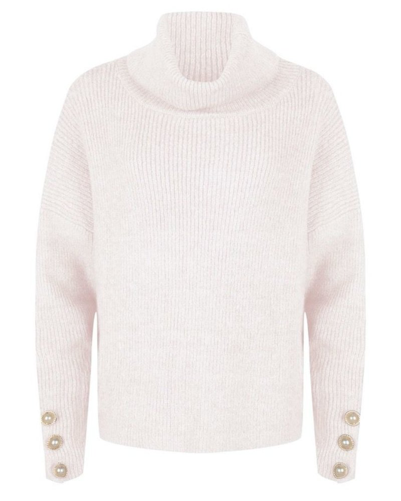ESQUALO F20.02518 Sweater oversized buttons off white