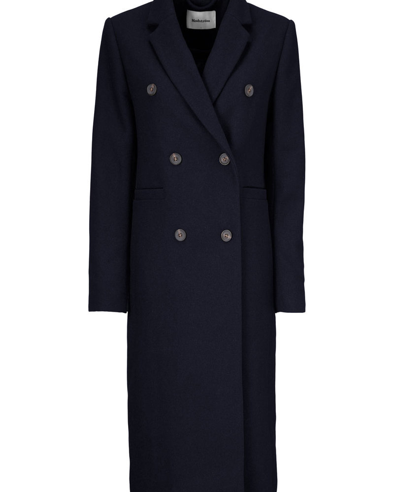 MODSTRÖM 55135 Odelia long coat navy sky