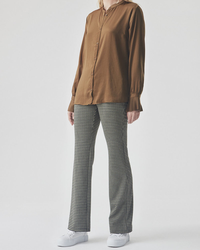 MODSTRÖM 55250 Fawn pants, fashion pants houndstooth check