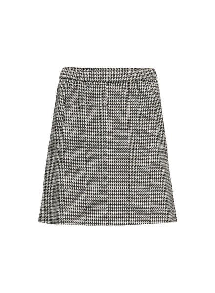 MODSTRÖM 55329 Fawn short check skirt, fashion skirt houndstooth check