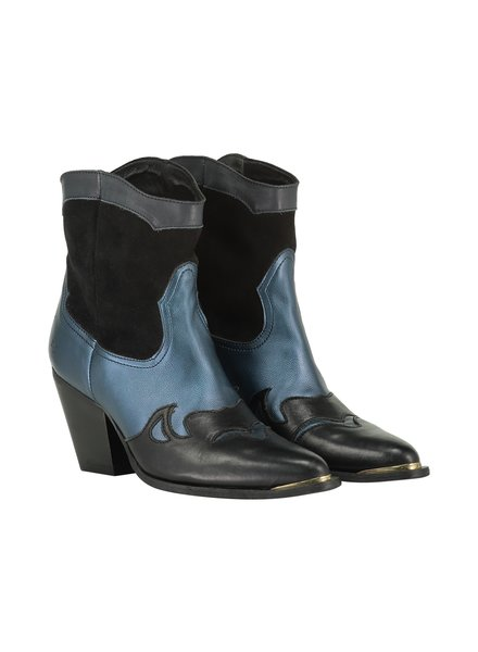 FREEBIRD Shoe-blue boots leather-01