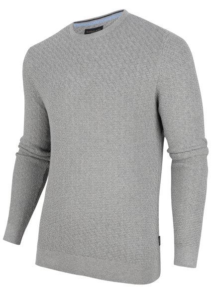 CAVALLARO Trento pullover 118205003 Light grey 900000
