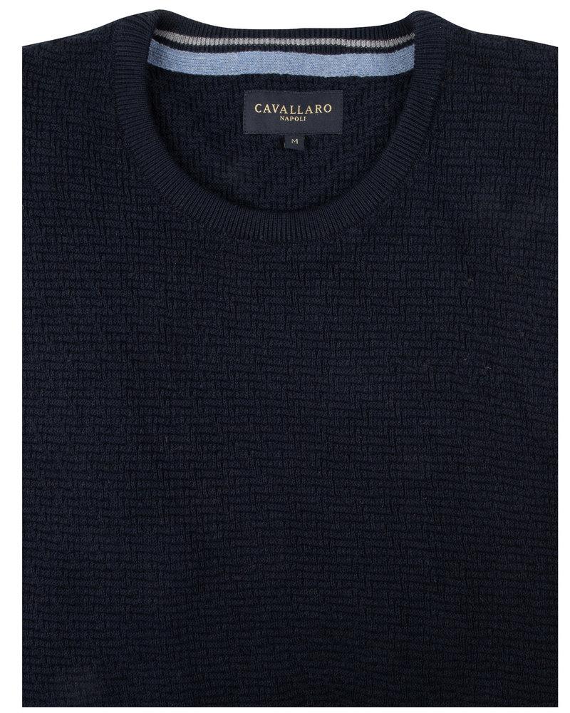 CAVALLARO Trento pullover 118205003 Cavallaro blue 699000