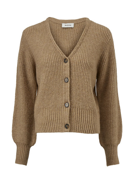 MODSTRÖM 55331 Flash cardigan, knit cardigan camel