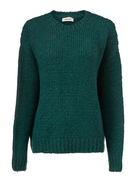 MODSTRÖM 54651 Valentina o-neck, knit sweater empire green