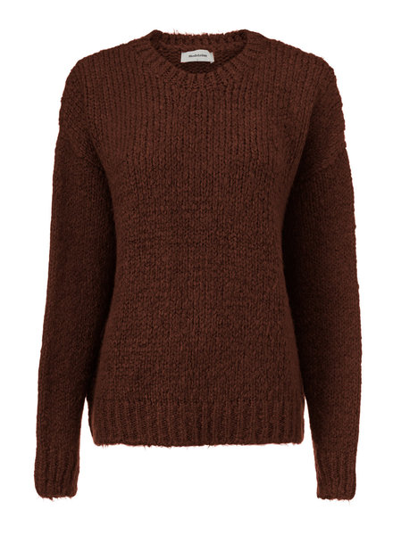 MODSTRÖM 54651 Valentina o-neck, knit sweater moscha bisque