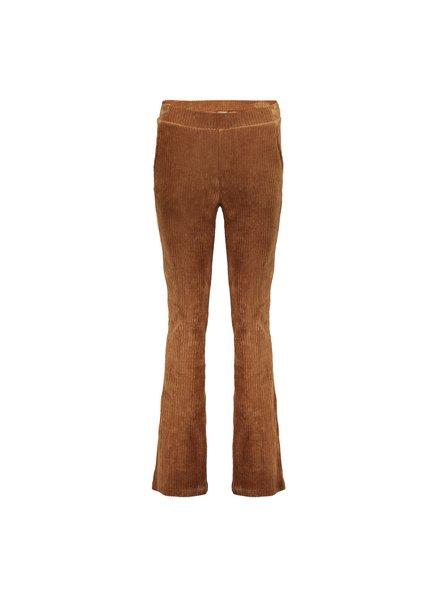 GEISHA 01620-20 Pants flair rib camel