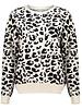 GEISHA 04542-22 Pullover leopard off-white/black
