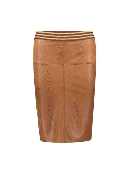 GEISHA 06509-10 Skirt suedine camel