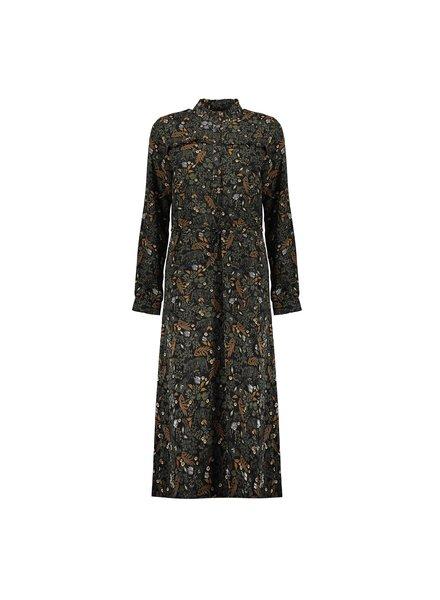 GEISHA 07623-20 Dress black/army combi