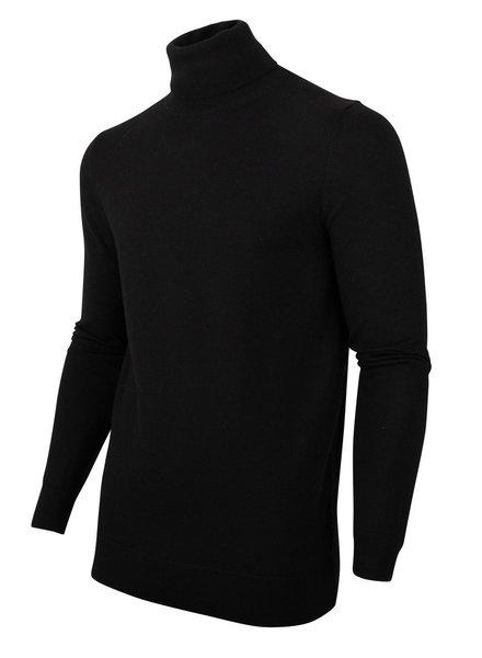 CAVALLARO Merino roll neck 118205002 Black 999000