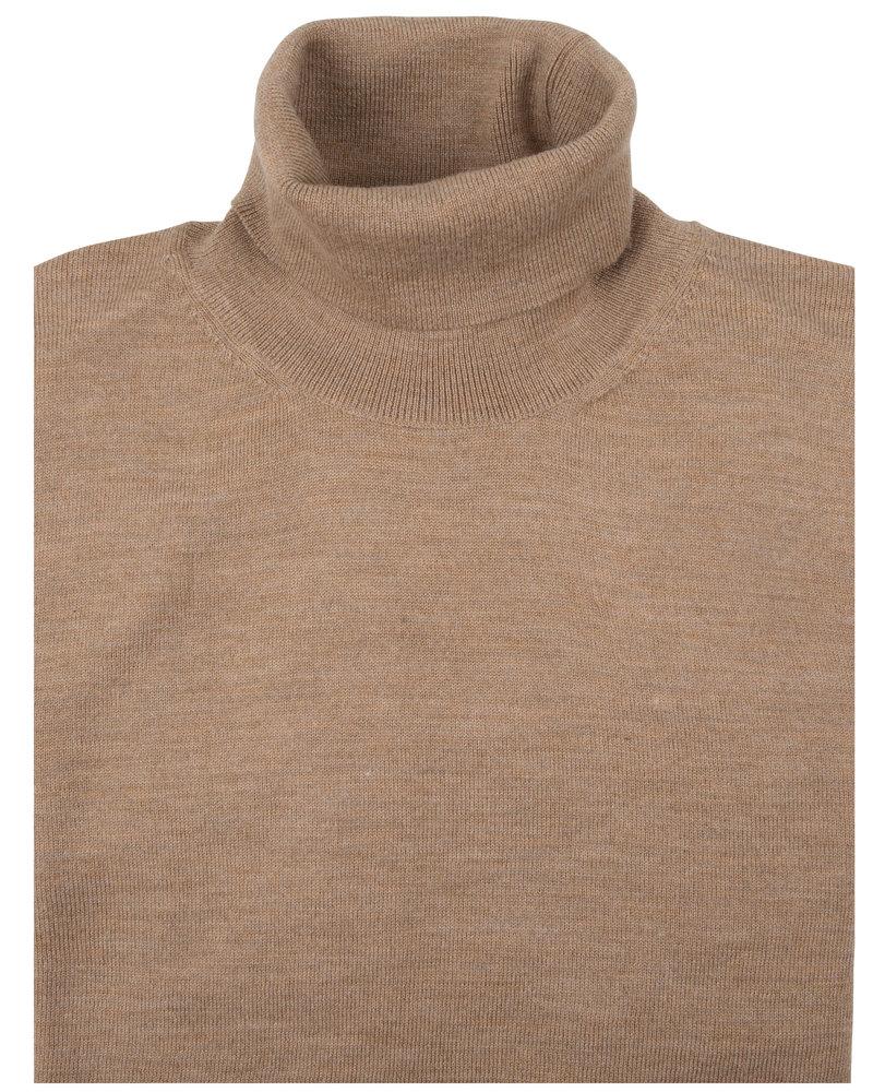 CAVALLARO Merino roll neck 118205002 Beige 825000