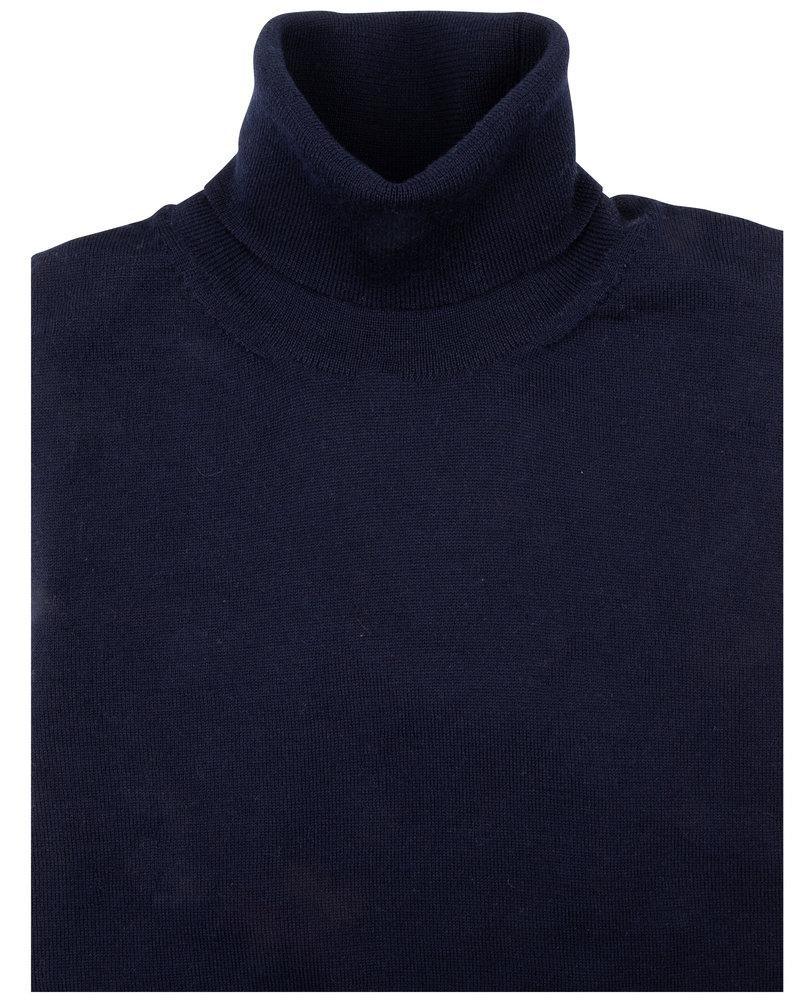 CAVALLARO Merino roll neck 118205002 Cavallaro blue 699000