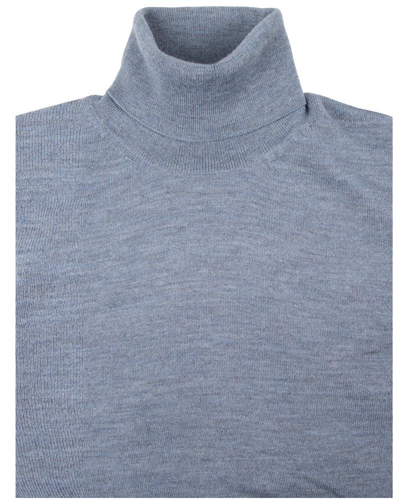 CAVALLARO Merino roll neck 118205002 Light blue 600000