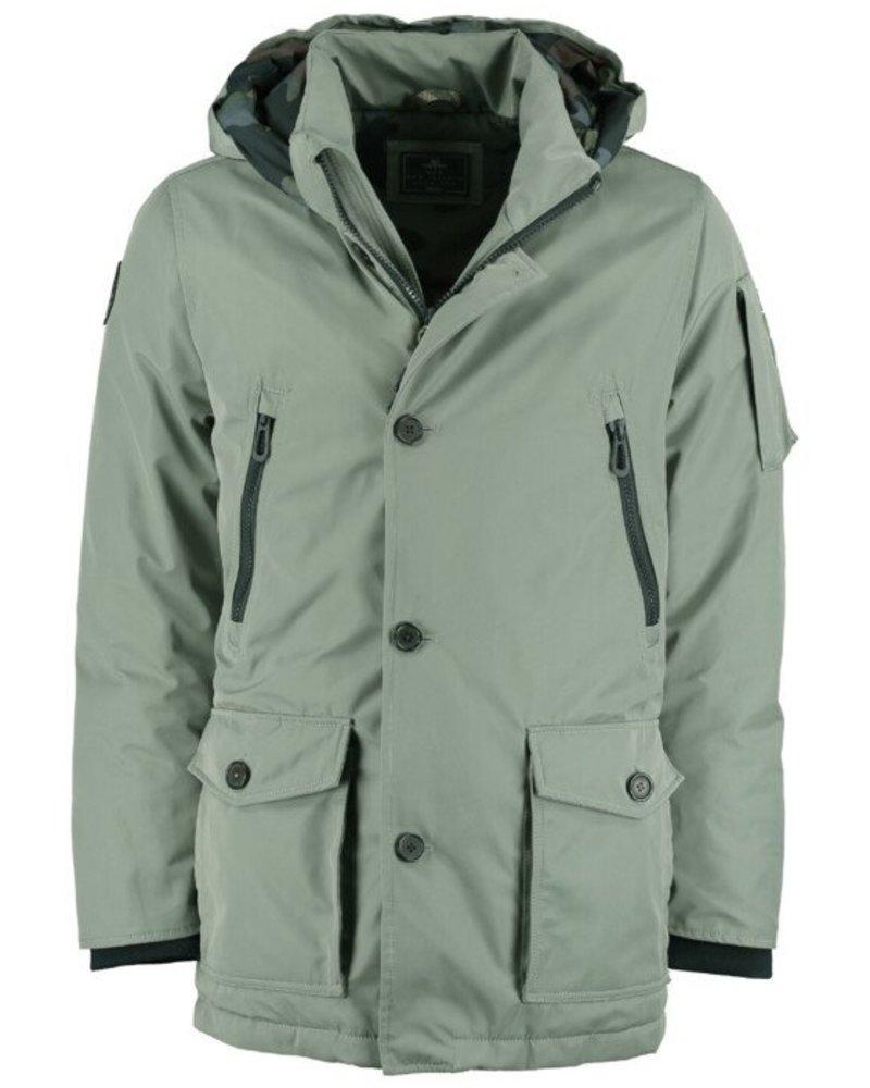 NZA NEW ZEALAND 20KN814 Waituna jacket parka 278 Jacket groen