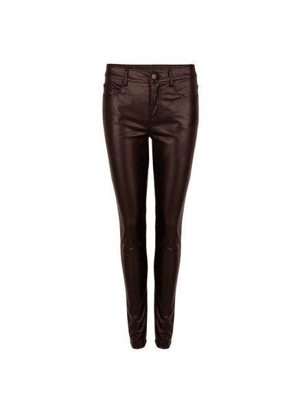 ESQUALO W20.04701 Trouser PU chocolate