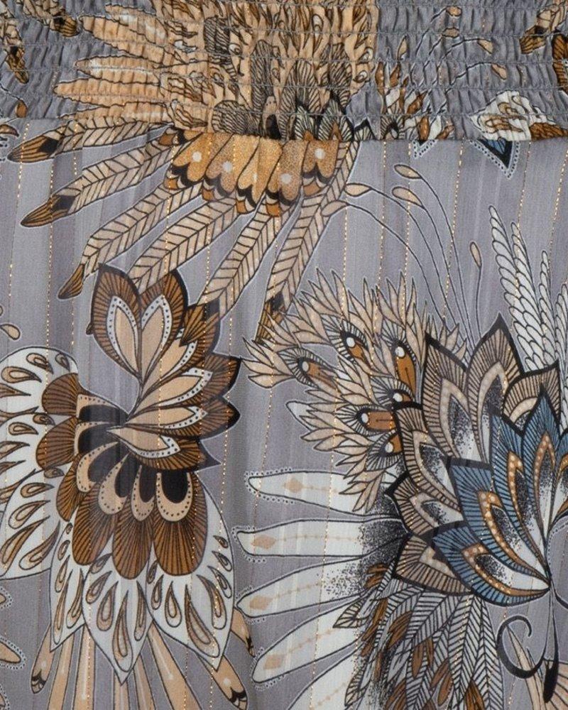 ESQUALO W20.15710 Dress feather flower print print
