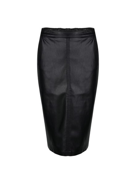 ESQUALO W20.04702 Skirt PU pencil black