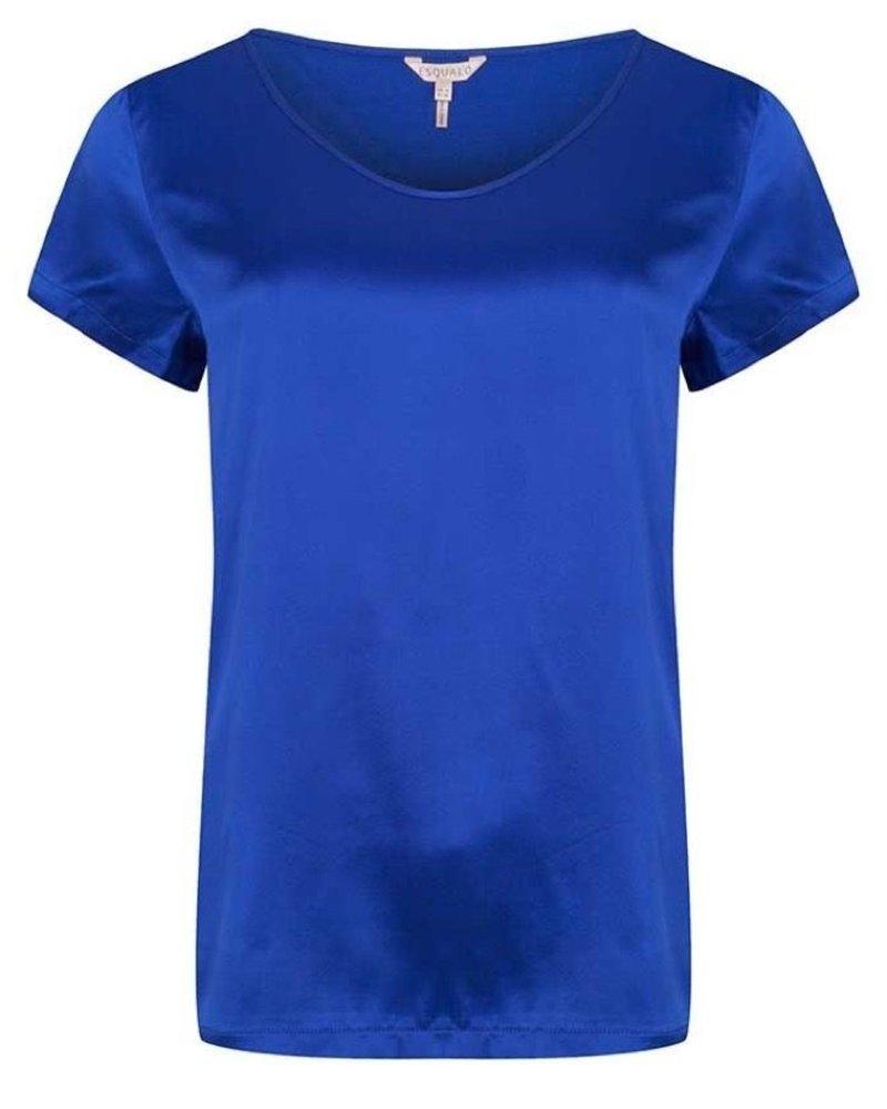 ESQUALO W20.33700 T-shirt silk basic blue