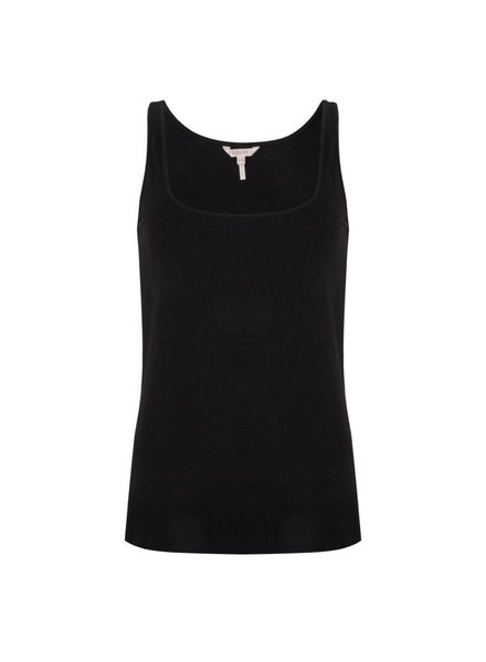 ESQUALO W20.30725 Top singlet basic black