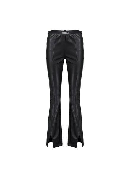 GEISHA 01564-19 Pants pu flair black