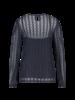 MILLA AMSTERDAM MHW20031.37 Blair blouse dark blue
