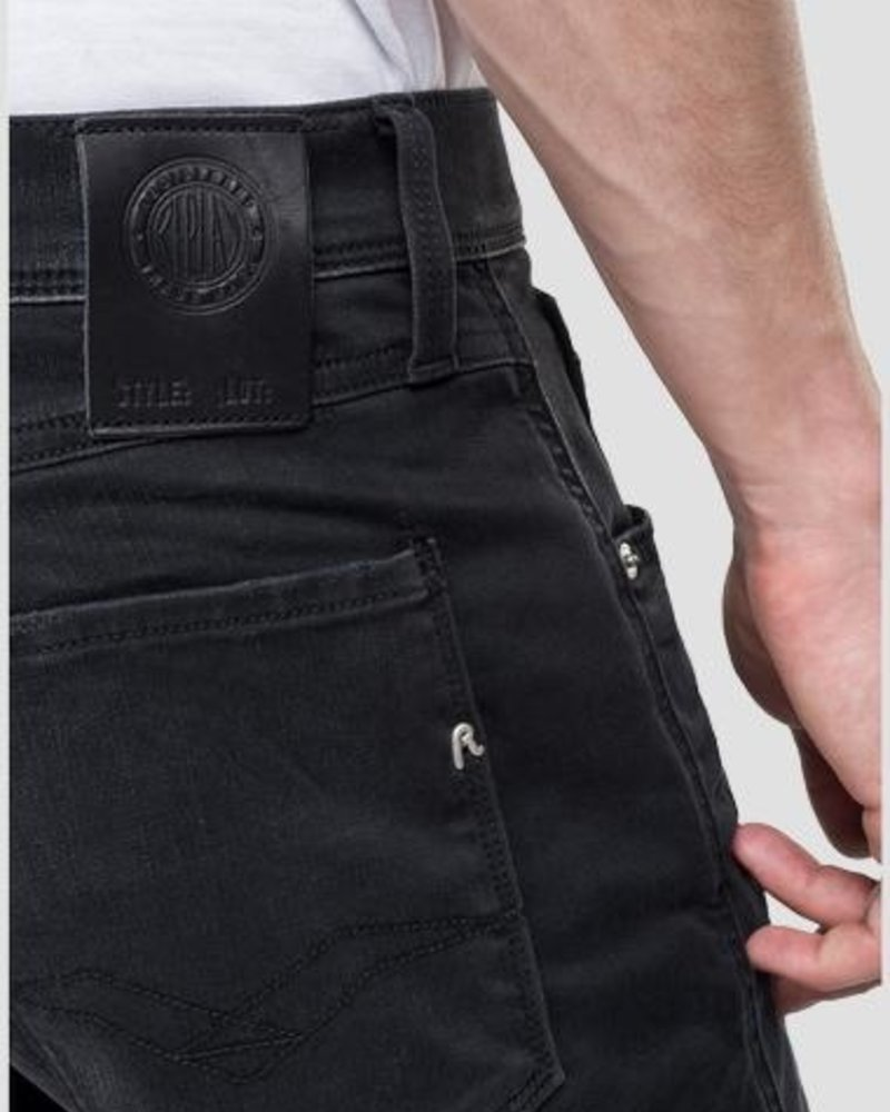 REPLAY SLIM FIT HYPERFLEX ANBASS JEANS CLOUDS M914 .000.661 E01
