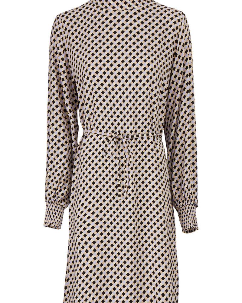 MODSTRÖM 55630 Henrikka print dress, fashion dress harlekin