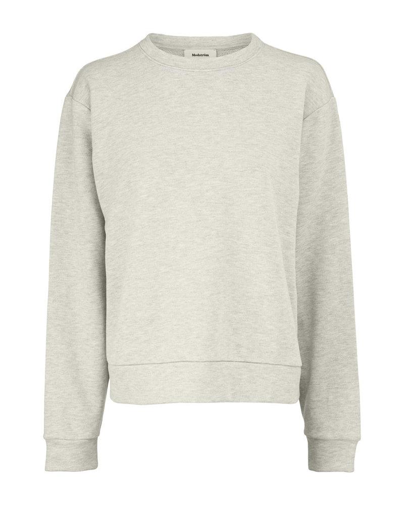 MODSTRÖM 55687 Holly sweat, sweatshirt grey melange