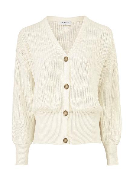 MODSTRÖM 55573 Hanni cardigan, knit cardigan off white