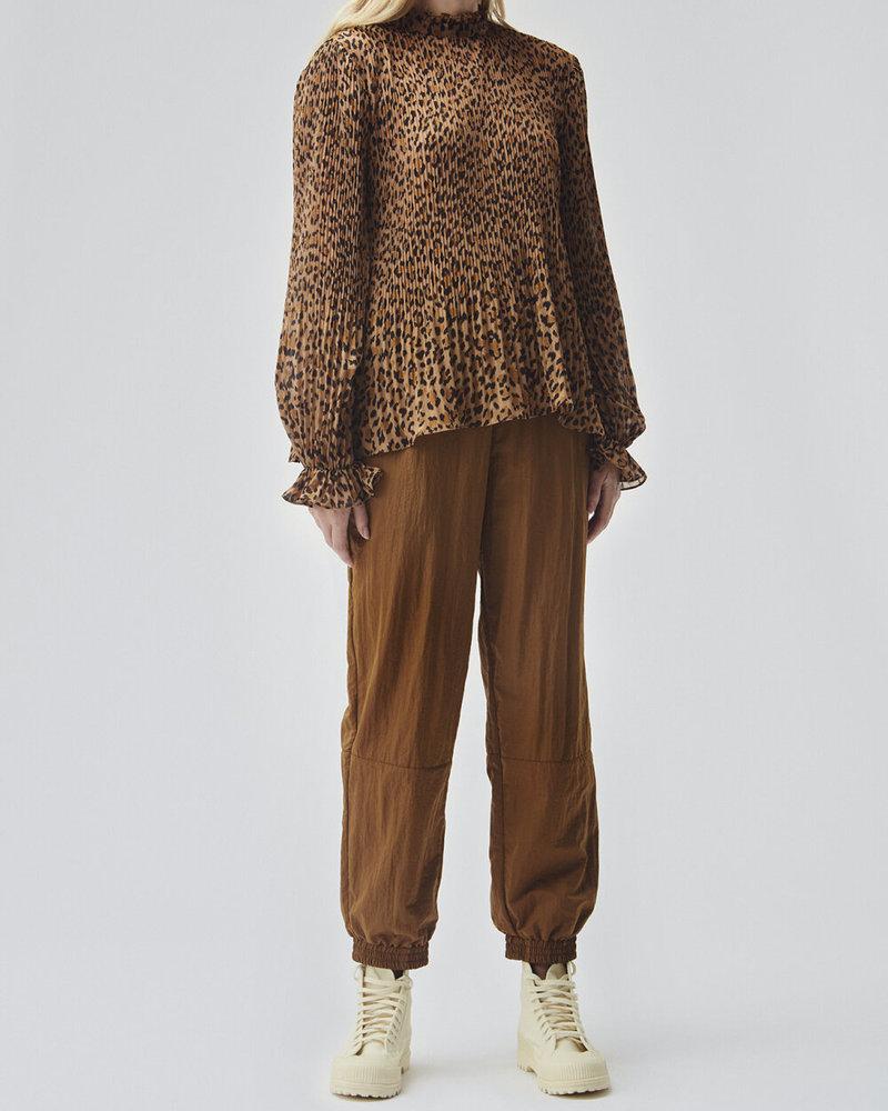 MODSTRÖM 55602 Hitta print top, top brown leopard