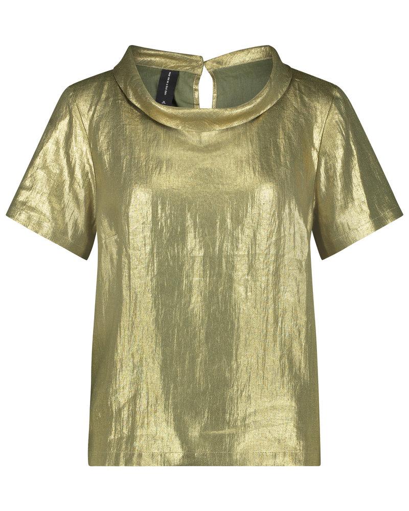 JANE LUSHKA Top alexa GPL62125020 green gold