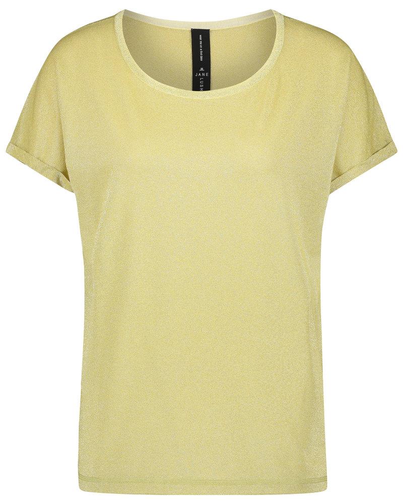 JANE LUSHKA Hope t shirt RP621220 light gold
