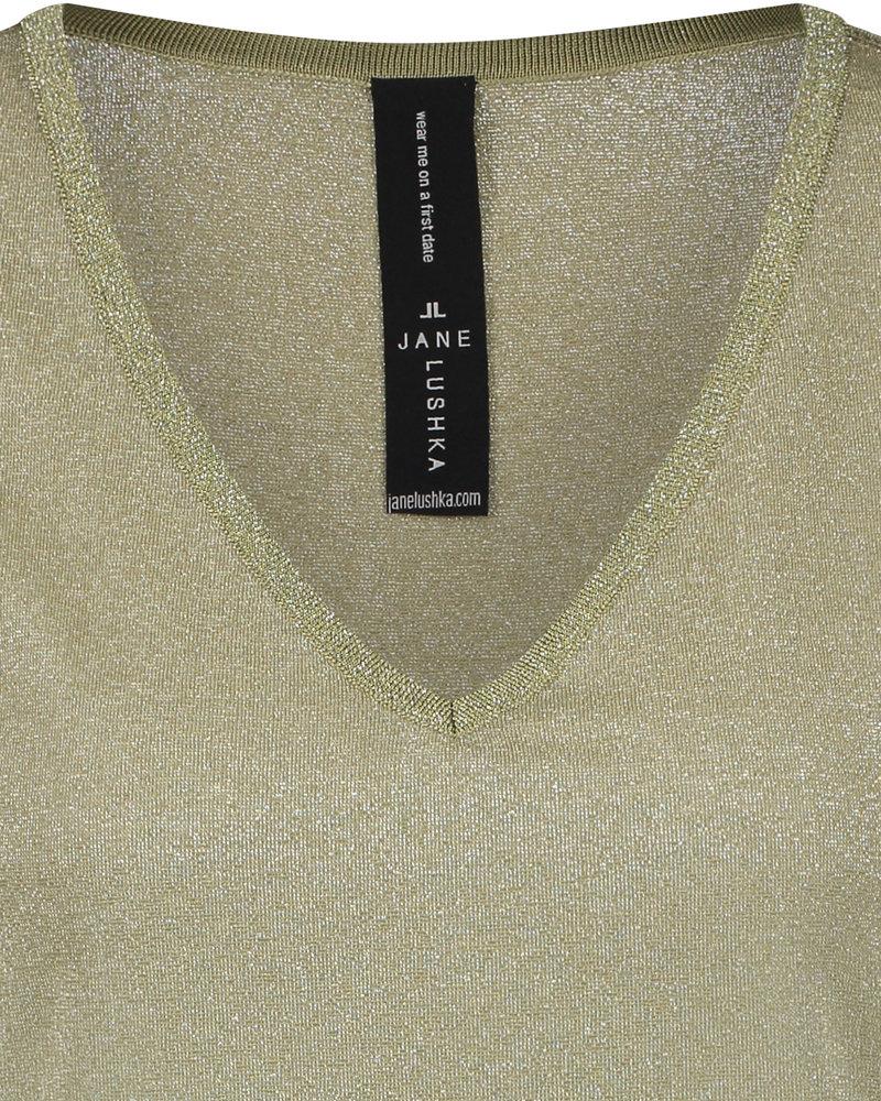 JANE LUSHKA T shirt leny RP62122040 light green