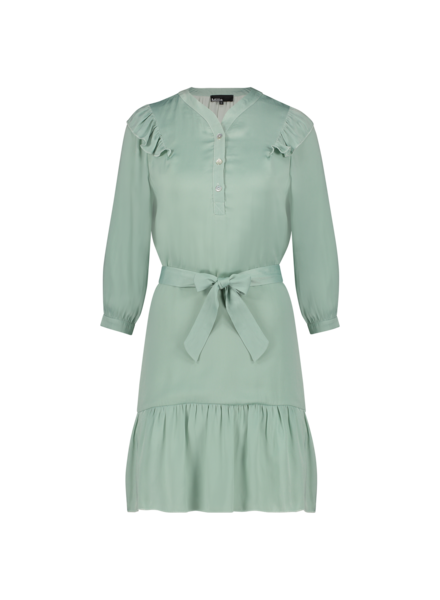 MILLA AMSTERDAM MSS210055.58 Dakota dress jade green