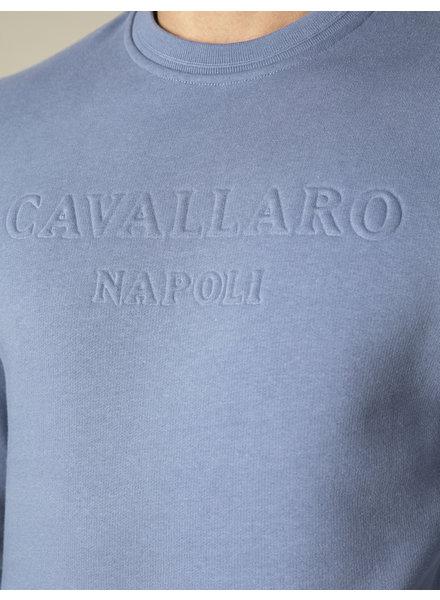 CAVALLARO Maricio sweat 120211003 mid blue