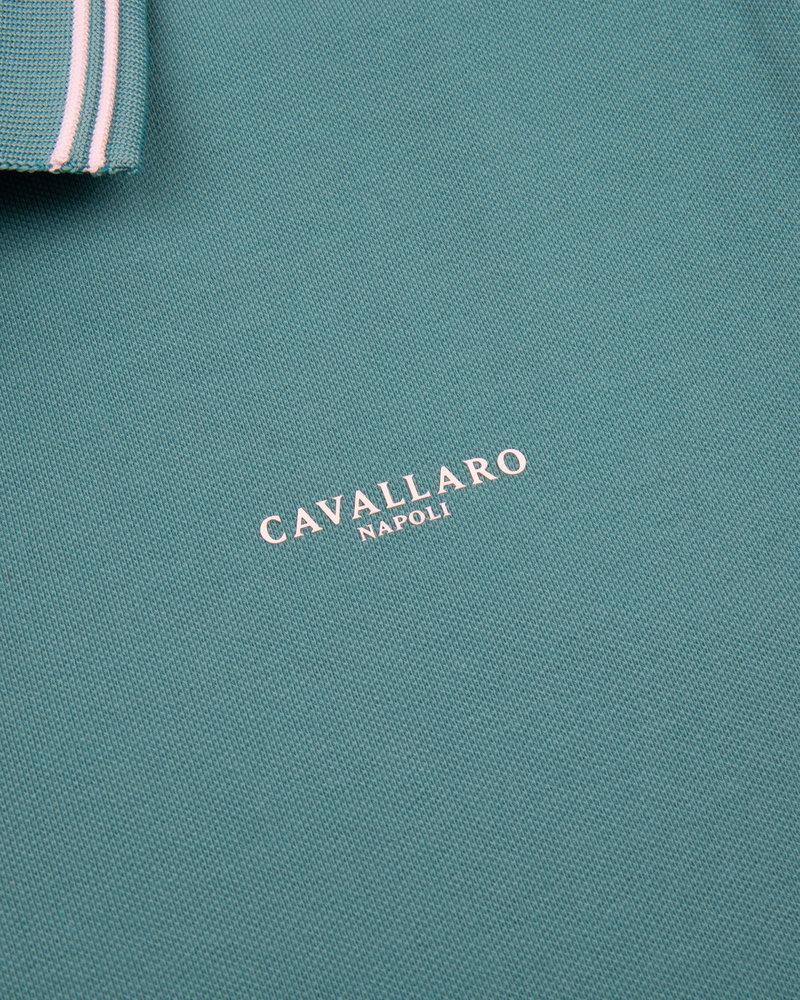 CAVALLARO Garmino polo 116211000 teal green
