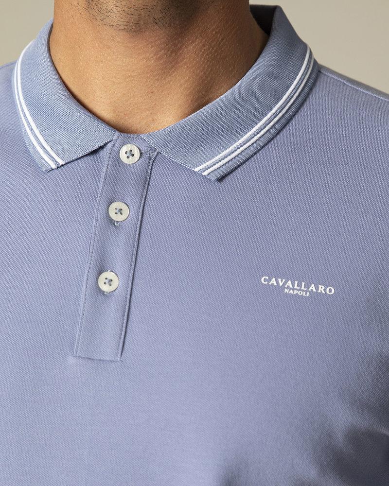 CAVALLARO Garmino polo 116211000 mid blue