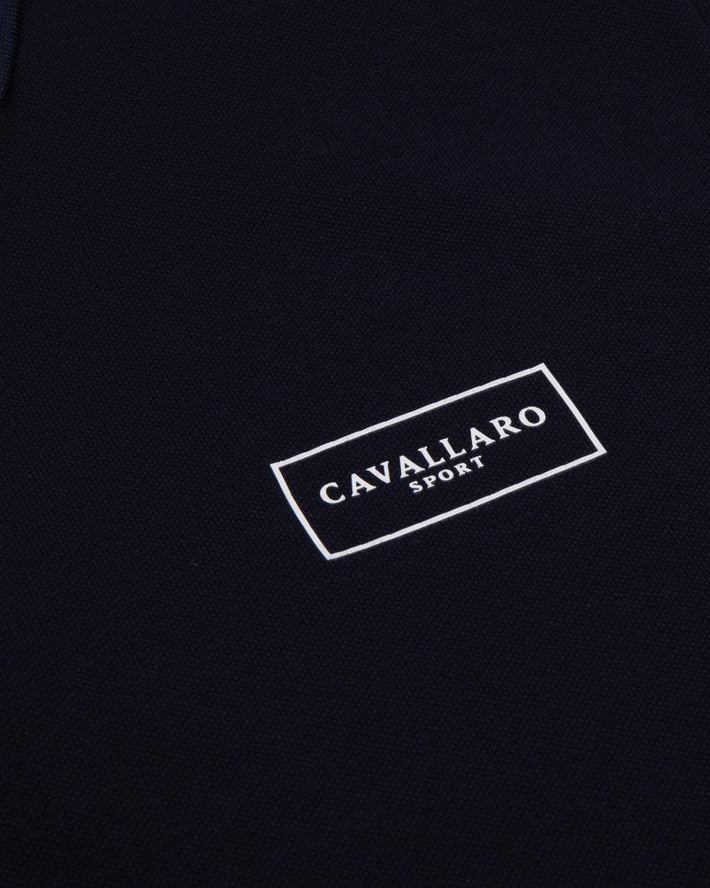 CAVALLARO Cavallaro sport polo 116211005 dark blue
