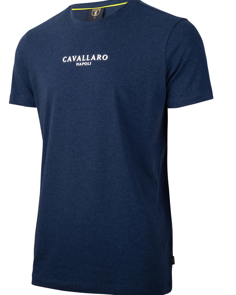 CAVALLARO Albaretto tee 117211000 dark blue