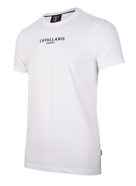 CAVALLARO Albaretto tee 117211000 white