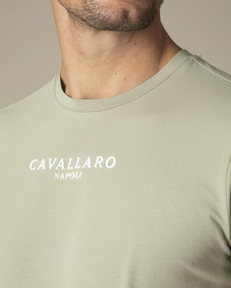 CAVALLARO Albaretto tee 117211000 mid green