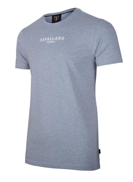 CAVALLARO Albaretto tee 117211000 light blue
