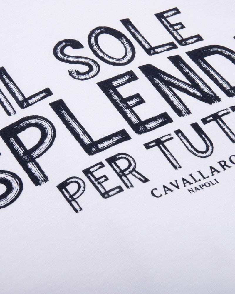 CAVALLARO Solemio tee 117211011 white